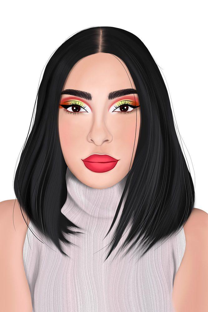 Illustration de Portrait LianArts - Sananas