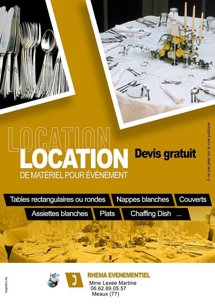 Affiche/Flyer LianArts (Communication Visuelle)