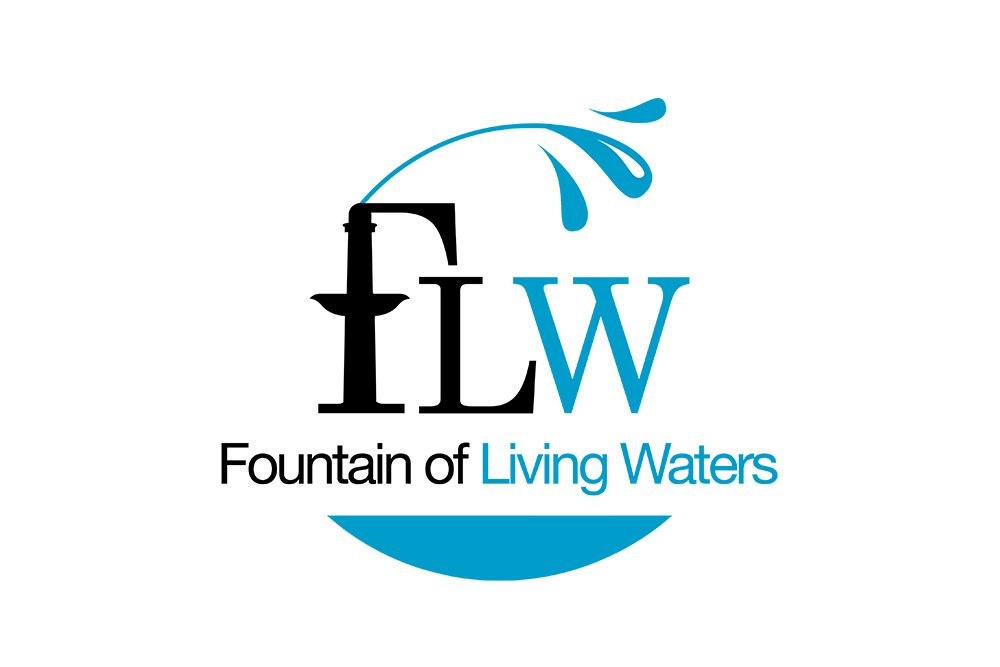 Logo Fountain of Living Waters (Graphiste LianArts)