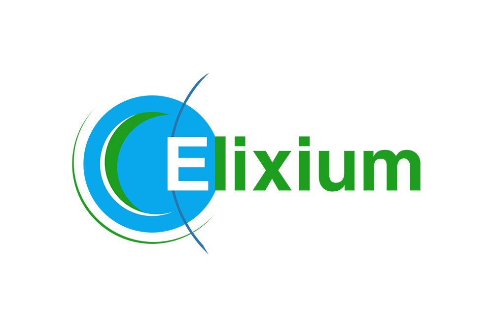 Logo ELIXIUM (Graphiste LianArts)