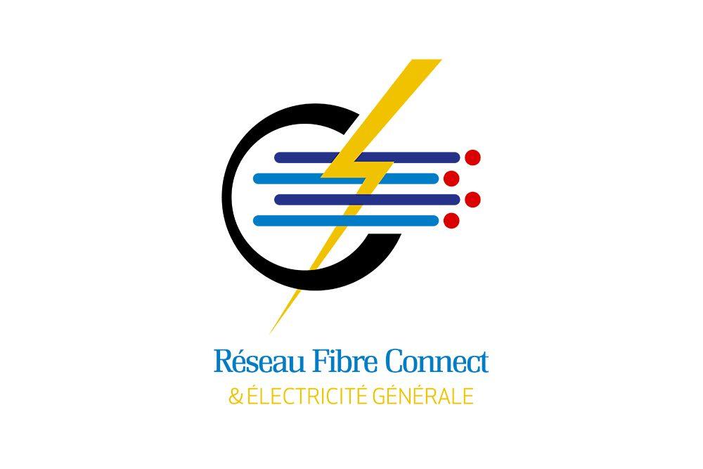 Logo Réseau Fibre Connect (Graphiste LianArts)