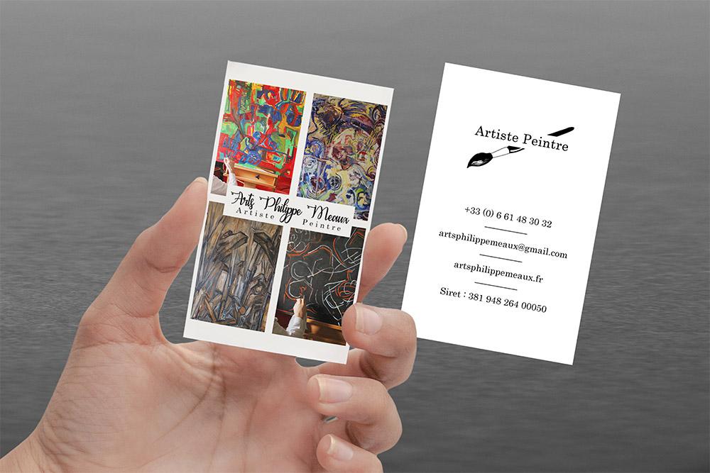 Carte de visite - Graphiste LianArts