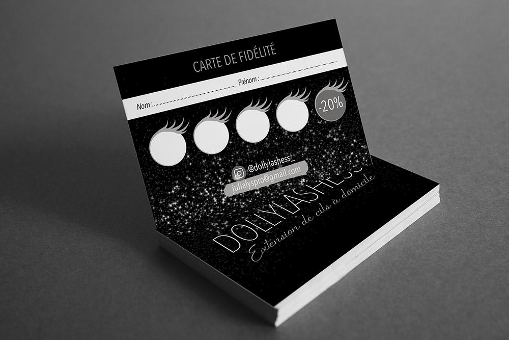 Carte de fidélité - Graphiste LianArts
