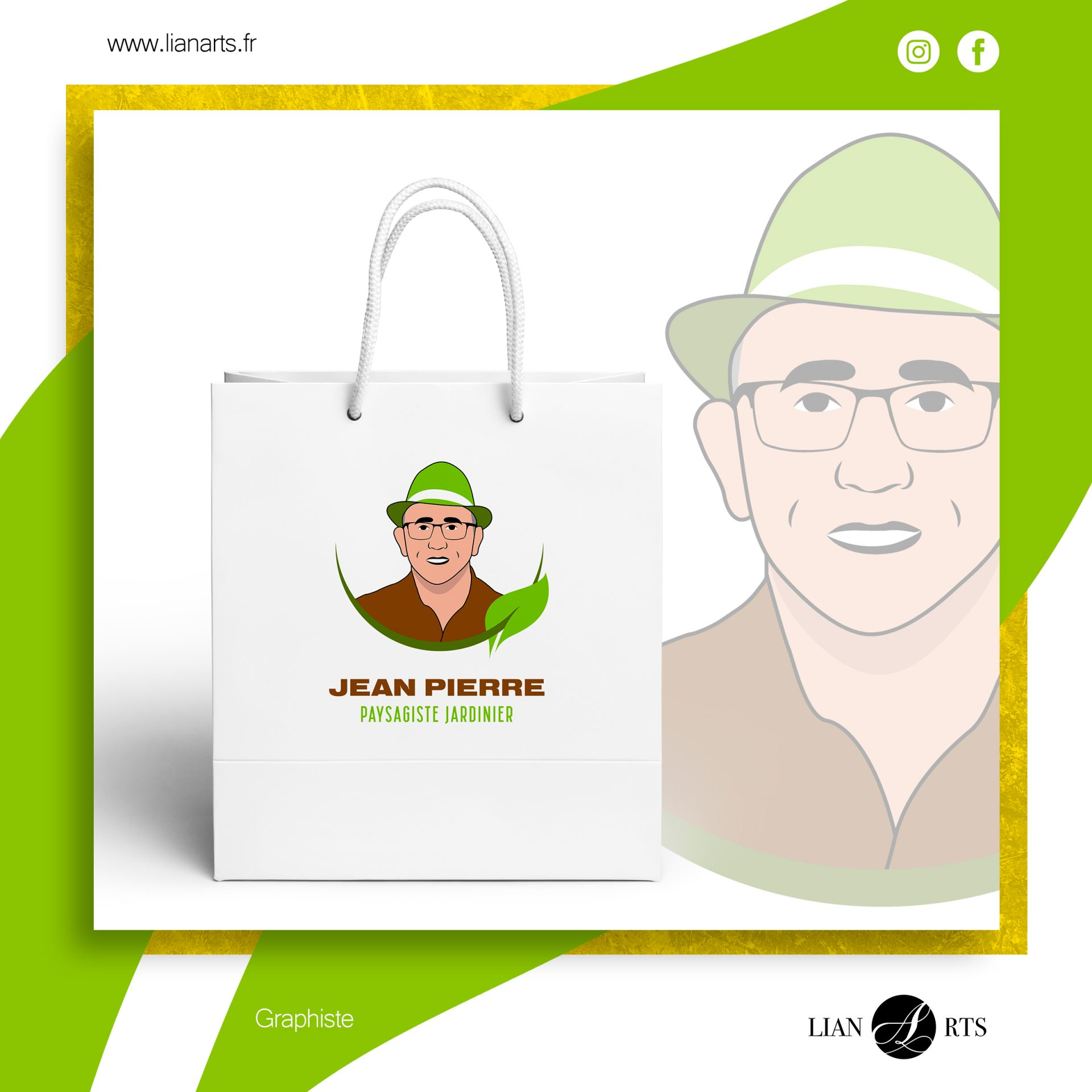 Projet - Jean Pierre - Création LianArts