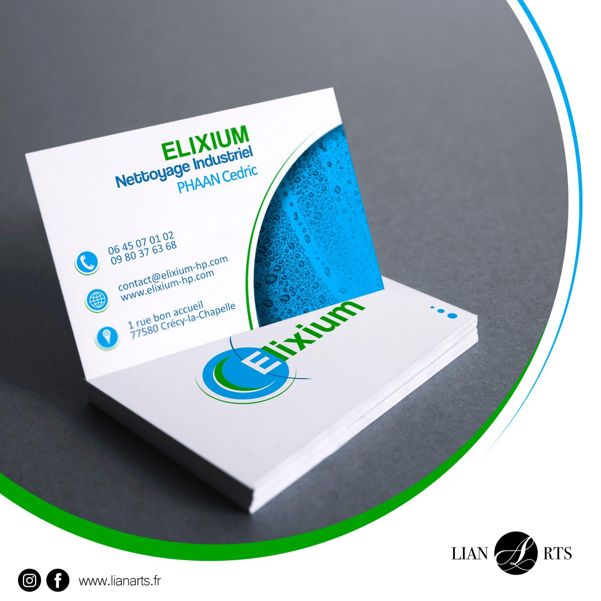 Projet - Elixium - Création LianArts