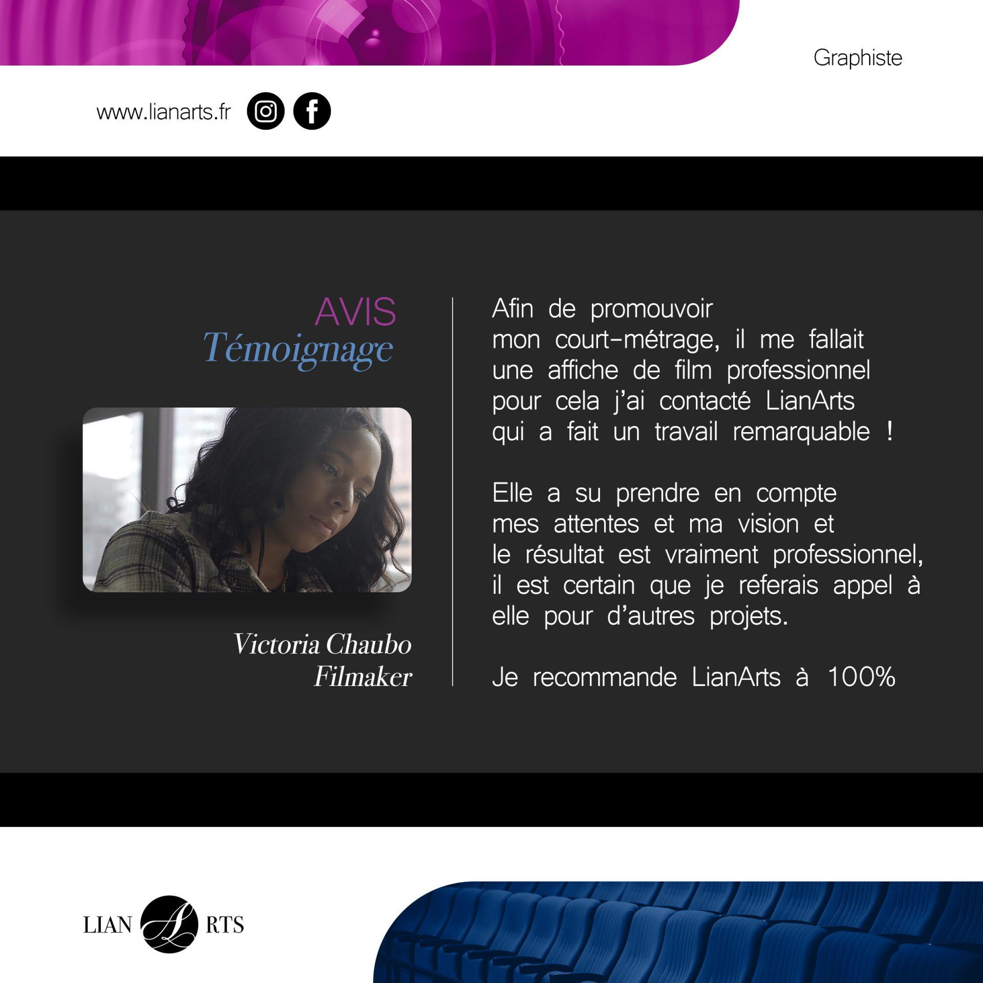 Projet - Victoria Chaubo - Création LianArts