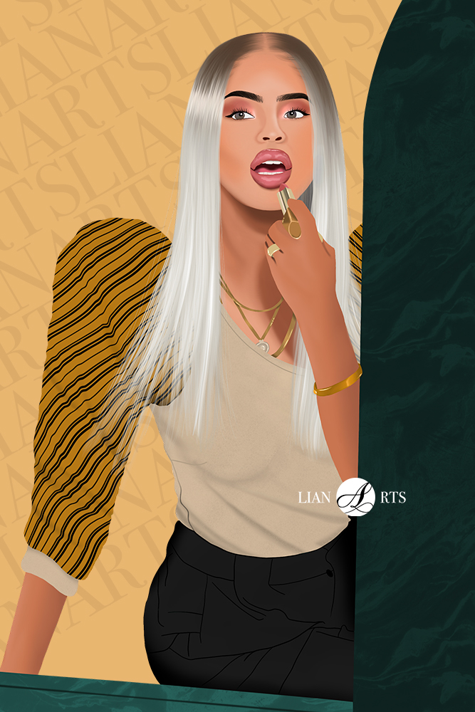 Illustration de Portrait LianArts - Paola Locatelli