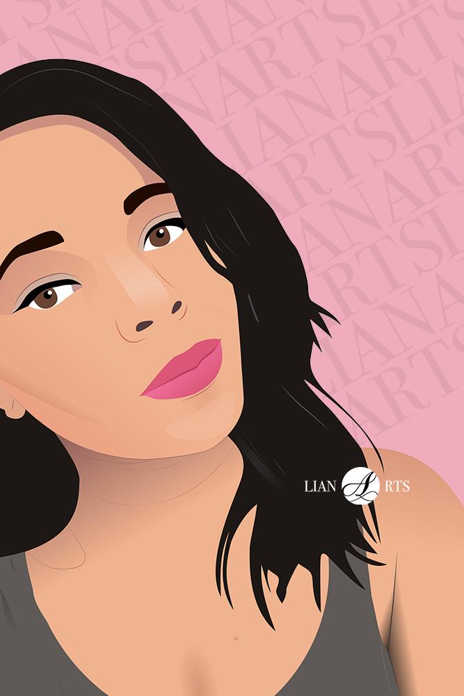 Illustration de Portrait LianArts - Victoria Chaubo