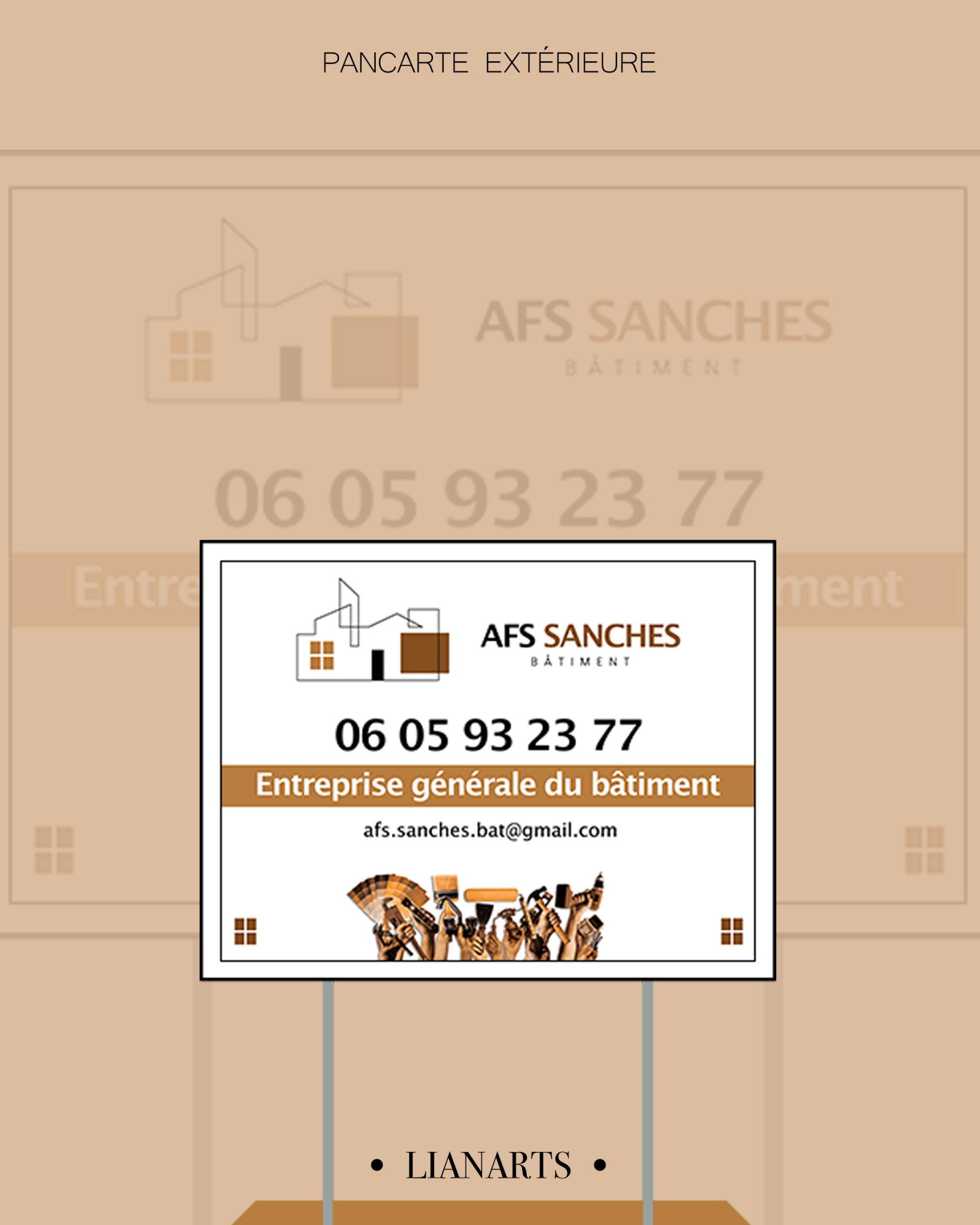 Projet - AFS SANCHES - Création LianArts